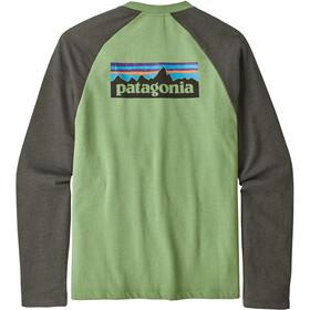 Patagonia M's P-6 Logo LW Crew Sweatshirt Matcha Green